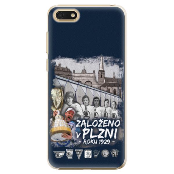 Plastový kryt iSaprio - Založeno v Plzni roku 1929 pro mobil Honor 7S