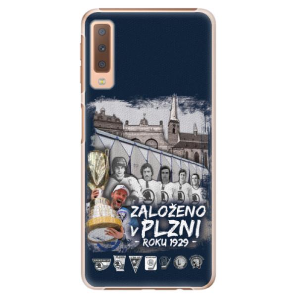 Plastový kryt iSaprio - Založeno v Plzni roku 1929 pro mobil Samsung Galaxy A7 (2018)