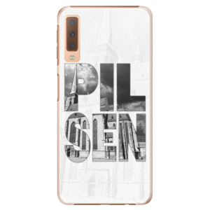 Plastové pouzdro iSaprio - Pilsen Bartoloměj na mobil Samsung Galaxy A7 (2018)