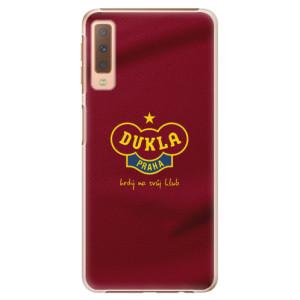 Plastové pouzdro iSaprio - FK Dukla Praha na mobil Samsung Galaxy A7 (2018)
