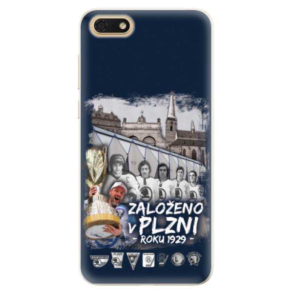 Silikonový kryt iSaprio - Založeno v Plzni roku 1929 pro mobil Honor 7S