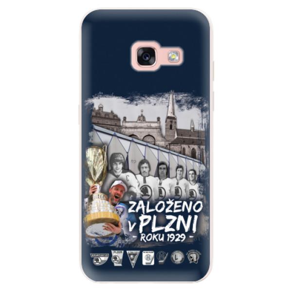 Silikonový kryt iSaprio - Založeno v Plzni roku 1929 pro mobil Samsung Galaxy A3 2017