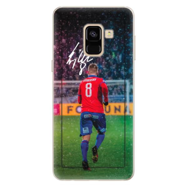 Silikonový kryt iSaprio - Limba pro mobil Samsung Galaxy A8 2018