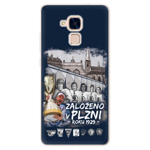Silikonový kryt iSaprio - Založeno v Plzni roku 1929 pro mobil Honor 7 Lite
