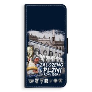 Flipové pouzdro iSaprio - Založeno v Plzni roku 1929 na mobil Samsung Galaxy J6