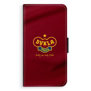 Flipové pouzdro iSaprio - FK Dukla Praha na mobil Apple iPhone XR