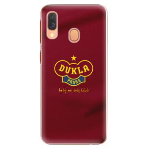 Plastové pouzdro iSaprio - FK Dukla Praha na mobil Samsung Galaxy A40