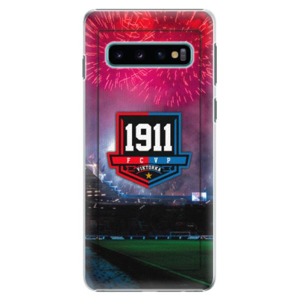 Plastový kryt iSaprio - FCVP 1911 Ohňostroj pro mobil Samsung Galaxy S10