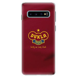 Plastové pouzdro iSaprio - FK Dukla Praha na mobil Samsung Galaxy S10