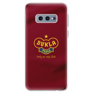 Plastové pouzdro iSaprio - FK Dukla Praha na mobil Samsung Galaxy S10e