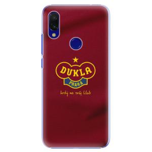 Plastové pouzdro iSaprio - FK Dukla Praha na mobil Xiaomi Redmi 7