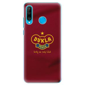 Plastové pouzdro iSaprio - FK Dukla Praha na mobil Huawei P30 Lite