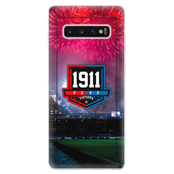 Silikonový kryt iSaprio - FCVP 1911 Ohňostroj pro mobil Samsung Galaxy S10 Plus