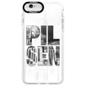 Silikonové pouzdro Bumper iSaprio - Pilsen Bartoloměj na mobil Apple iPhone 6 / 6S