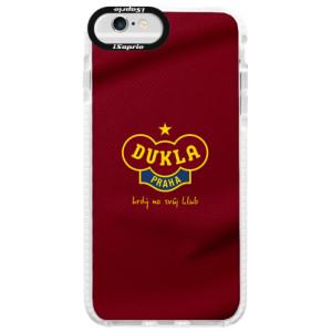 Silikonové pouzdro Bumper iSaprio - FK Dukla Praha na mobil Apple iPhone 6 / 6S