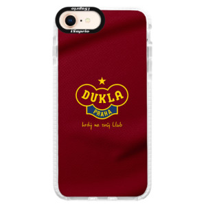 Silikonové pouzdro Bumper iSaprio - FK Dukla Praha na mobil Apple iPhone 8