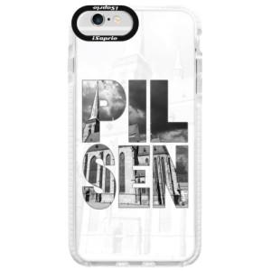 Silikonové pouzdro Bumper iSaprio - Pilsen Bartoloměj na mobil Apple iPhone 6 Plus / 6S Plus