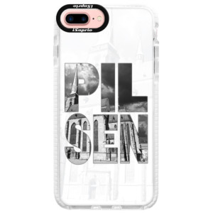Silikonový kryt Bumper iSaprio - Pilsen Bartoloměj pro mobil Apple iPhone 7 Plus