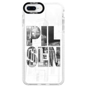 Silikonové pouzdro Bumper iSaprio - Pilsen Bartoloměj na mobil Apple iPhone 8 Plus