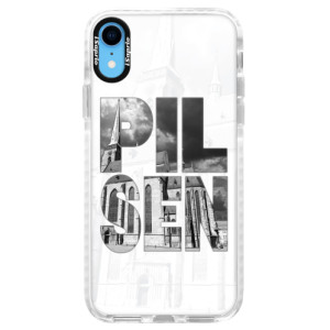 Silikonové pouzdro Bumper iSaprio - Pilsen Bartoloměj na mobil Apple iPhone XR